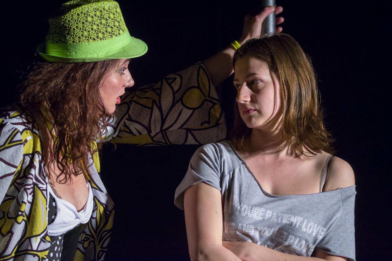 A Liliom a Gyulai Várszínház színpadán